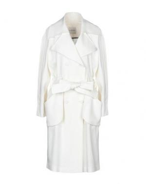 Легкое пальто EMANUEL UNGARO. Цвет: слоновая кость