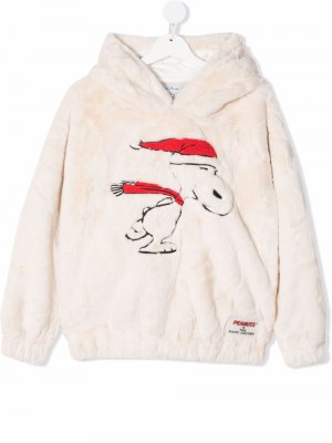 TEEN embroidered pullover hoodie The Marc Jacobs Kids. Цвет: нейтральные цвета