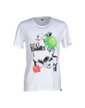 Футболка DRESS CODE. Цвет: белый