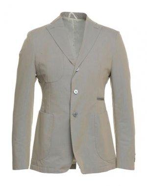 Пиджак JOHN SHEEP. Цвет: голубиный серый