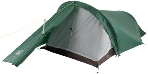 Палатка 2-местная Gossamer II JACK WOLFSKIN. Цвет: зеленый