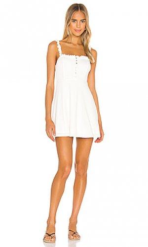 Платье emeline Privacy Please. Цвет: белый