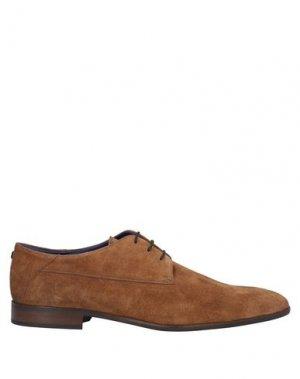 Обувь на шнурках AZZARO. Цвет: коричневый
