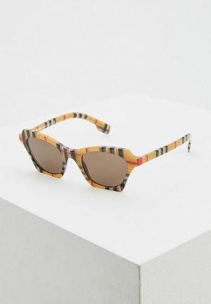 Очки солнцезащитные Burberry BE4283 3778/3. Цвет: бежевый