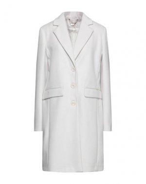 Пальто FRACOMINA. Цвет: светло-серый