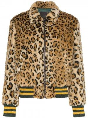 Леопардовый бомбер из коллаборации с Alison Mosshart R13