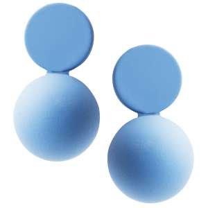 Серьги Ekonika EN49014 lt.blue-20L