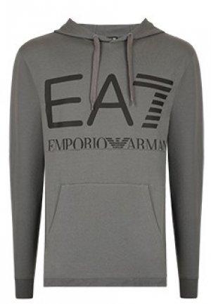Толстовка EA7. Цвет: серый