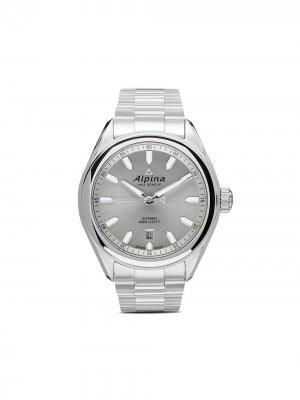 Наручные часы Alpiner Quartz 42 мм Alpina. Цвет: white
