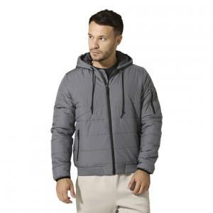 Утепленная стеганая куртка Outdoor Reebok. Цвет: shark