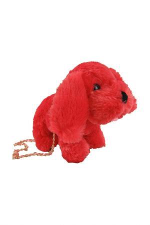 Сумочка Щенок Fluffy Family. Цвет: красный