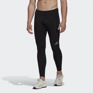 Леггинсы для бега Saturday COLD.RDY Performance adidas. Цвет: черный