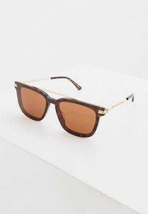 Очки солнцезащитные Jimmy Choo ZED/G/S 086 BROWN. Цвет: коричневый