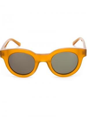 Солнцезащитные очки Type 02 Sun Buddies. Цвет: жёлтый и оранжевый