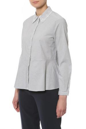 Рубашка Tommy Hilfiger. Цвет: 905 classic white, midnight st