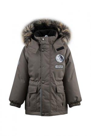 Куртка WOLF KERRY. Цвет: серо-бежевый, коричневый