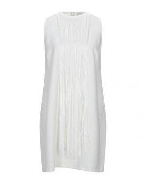 Короткое платье KAOS. Цвет: белый