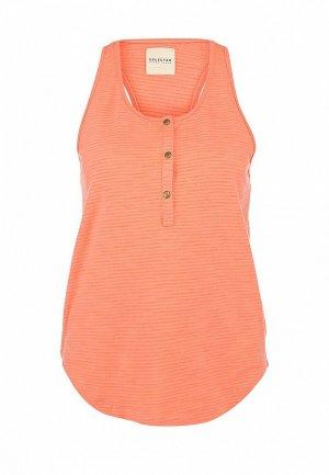 Майка Selected Femme SE781EWFH246. Цвет: оранжевый