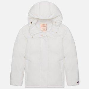 Женская куртка Water Repellent Hooded Padded Champion Reverse Weave. Цвет: белый