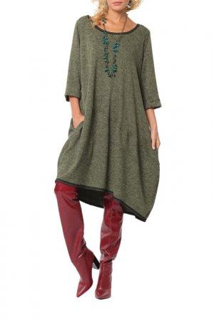 Платье Kata Binska. Цвет: зеленый