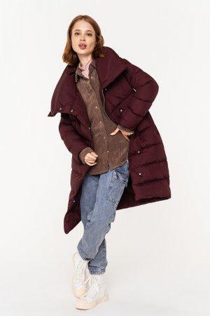 Пальто befree. Цвет: 71, бордовый