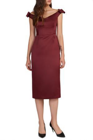 Платье Baon. Цвет: merlot