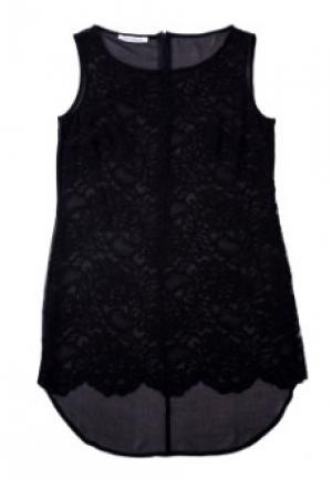 Блуза FLAVIO CASTELLANI. Цвет: черный
