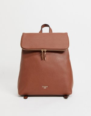 Светло-коричневый строгий рюкзак Donnis-Коричневый цвет Dune