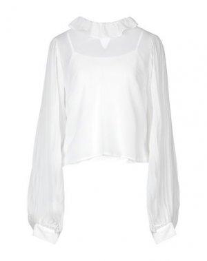Блузка ALLURE. Цвет: белый