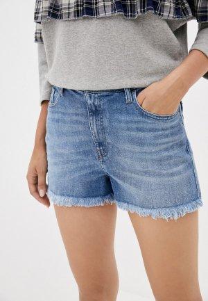 Шорты джинсовые Diesel. Цвет: синий