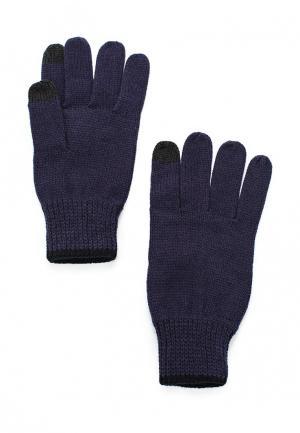 Перчатки Topman. Цвет: синий
