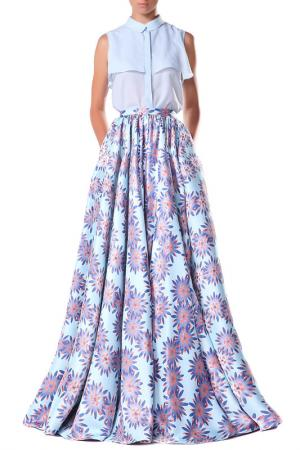 Блуза Isabel Garcia. Цвет: голубой