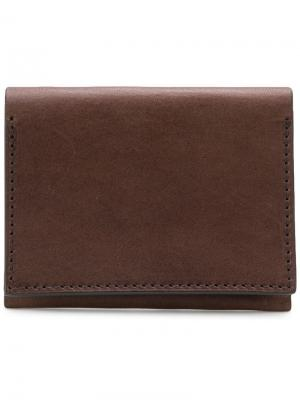 Классический кошелек Troubadour. Цвет: коричневый
