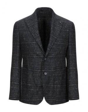 Пиджак DOMENICO TAGLIENTE. Цвет: стальной серый