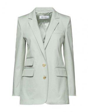 Пиджак MAX MARA. Цвет: светло-зеленый