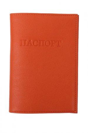 Обложка для паспорта Flioraj. Цвет: рыжий