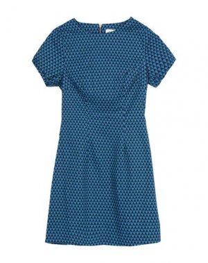 Короткое платье LOUCHE. Цвет: синий