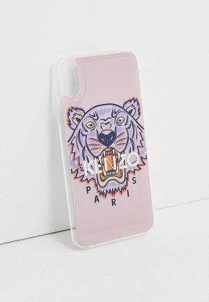 Чехол для телефона Kenzo X/XS MAX. Цвет: розовый