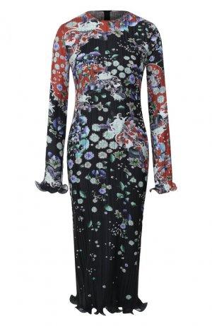 Платье с принтом Givenchy. Цвет: разноцветный