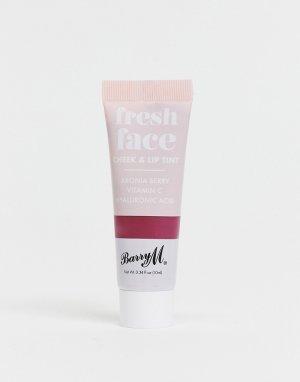 Тинт для щек и губ – Fresh Face (Blackberry)-Красный Barry M
