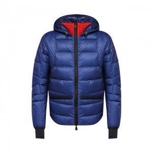 Пуховая куртка Mouthe Moncler Grenoble. Цвет: синий