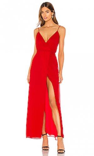 Платье arlo Privacy Please. Цвет: красный