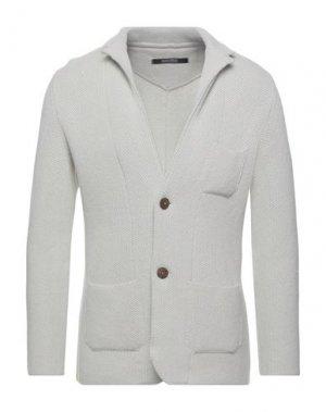 Пиджак ALBARENA. Цвет: светло-серый