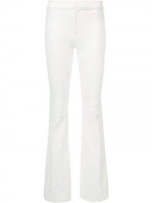 Расклешенные брюки Derek Lam 10 Crosby. Цвет: белый