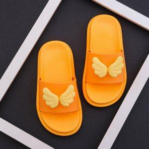 Декор для девочек с крылышками SHEIN. Цвет: оранжевый