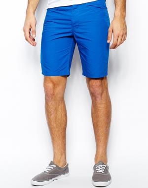 Шорты чиносы United Colors Of Benetton. Цвет: кобальтовый синий