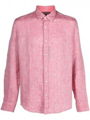 Рубашка с длинными рукавами Michael Kors. Цвет: красный