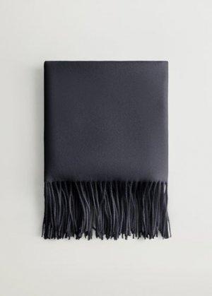 Шарф с бахромой - Bsweet Mango. Цвет: темно-синий винтаж