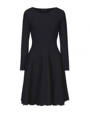 Короткое платье ANTONINO VALENTI. Цвет: темно-синий