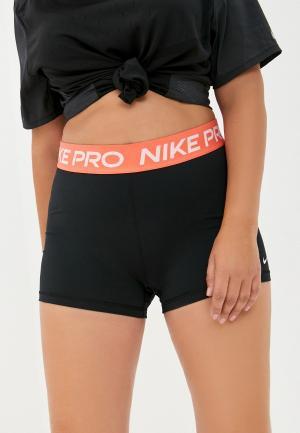 Шорты компрессионные Nike W NP 365 SHORT 3IN. Цвет: черный